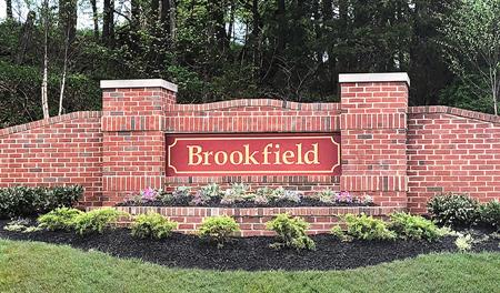 Entrance to the Brookfield community in western Maryland