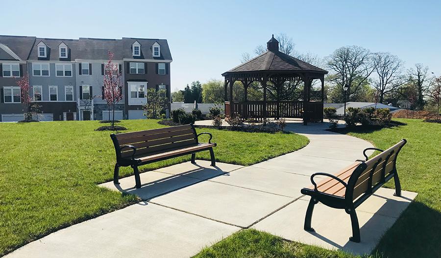 Park at Bristol Green in Maryland