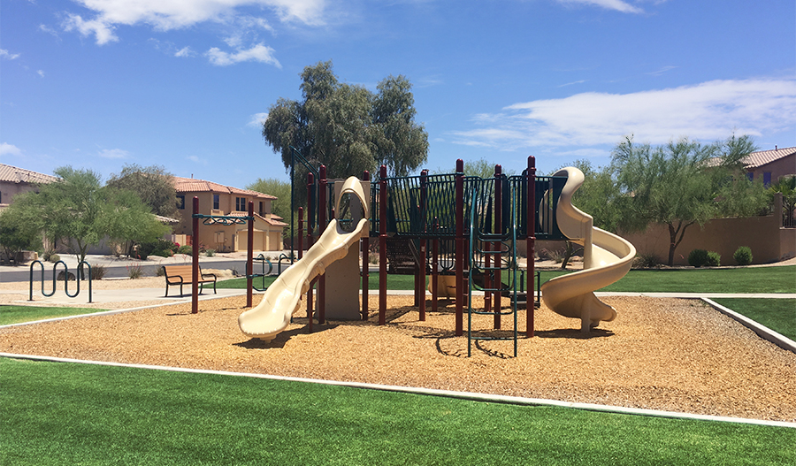 Community playground at The Links at Estrella in Phoenix