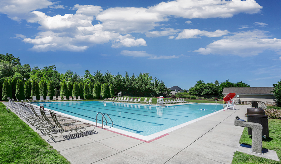 Lap Pool at Hager's Crossing in Western Maryland