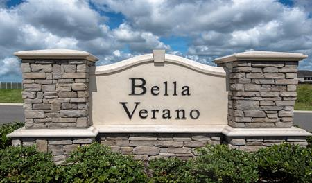 Monument at Bella Verano in Orlando Florida