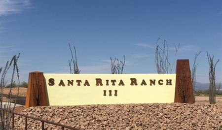 Monument at Santa Rita Ranch III in Tucson, AZ