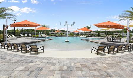 Pool in GreyHawk in Jacksonville