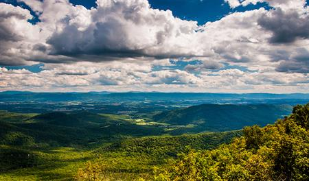 Shenandoah Valley in Virginia
