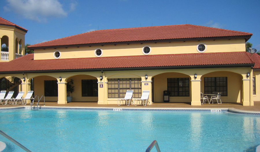 Club pool and Club house in Los Lagos at Matanzas in JAX