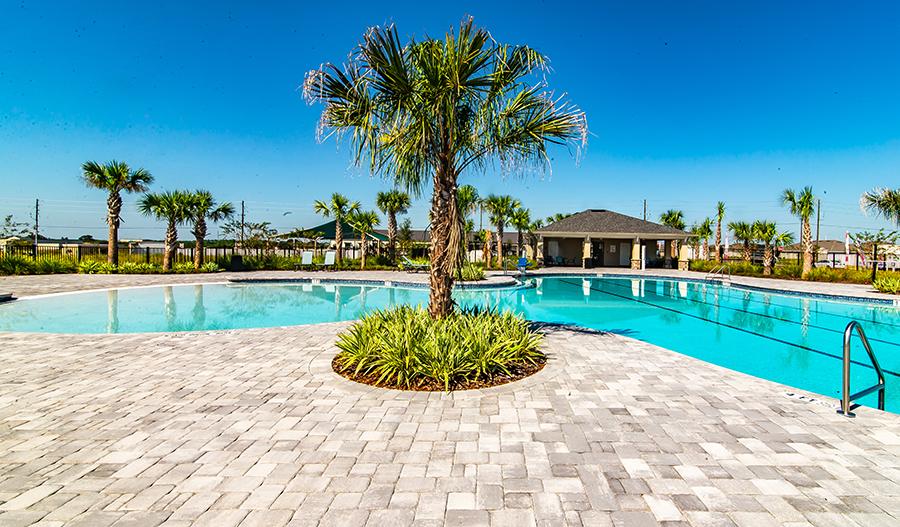 Pool in North Ridge in Orlando