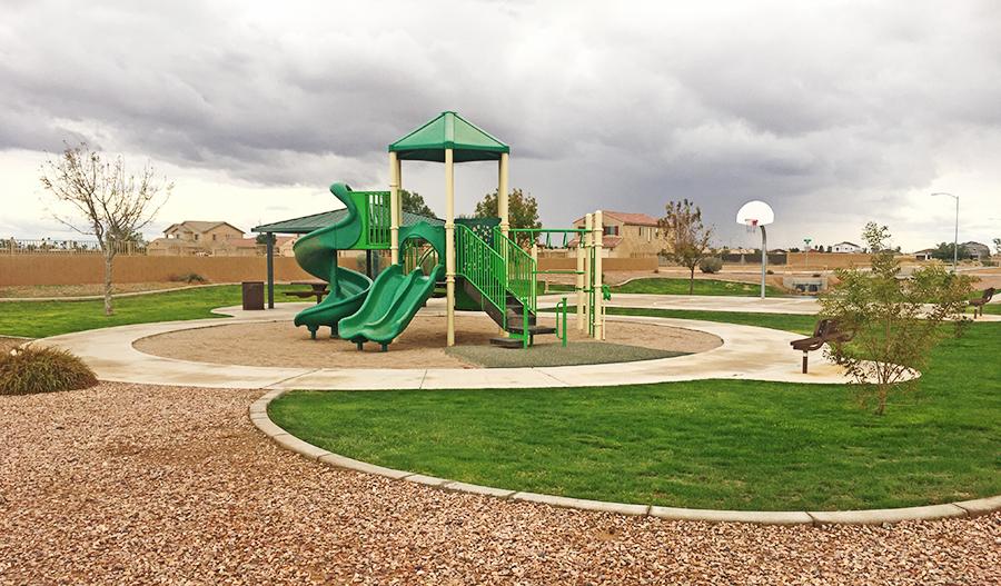 Playground in Seasons at McClellan Meadows in PHX