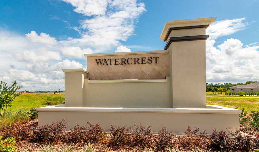 Monument in Seasons at Watercrest in ORL