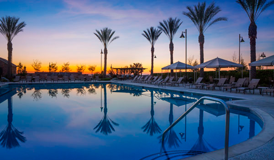 Pool in Whitney Rnach in Sacramento
