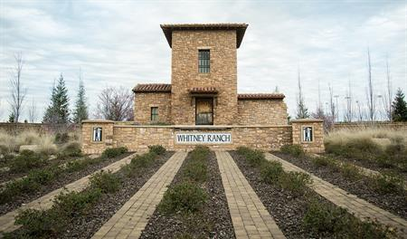 Monument of Whitney Ranch in SAC
