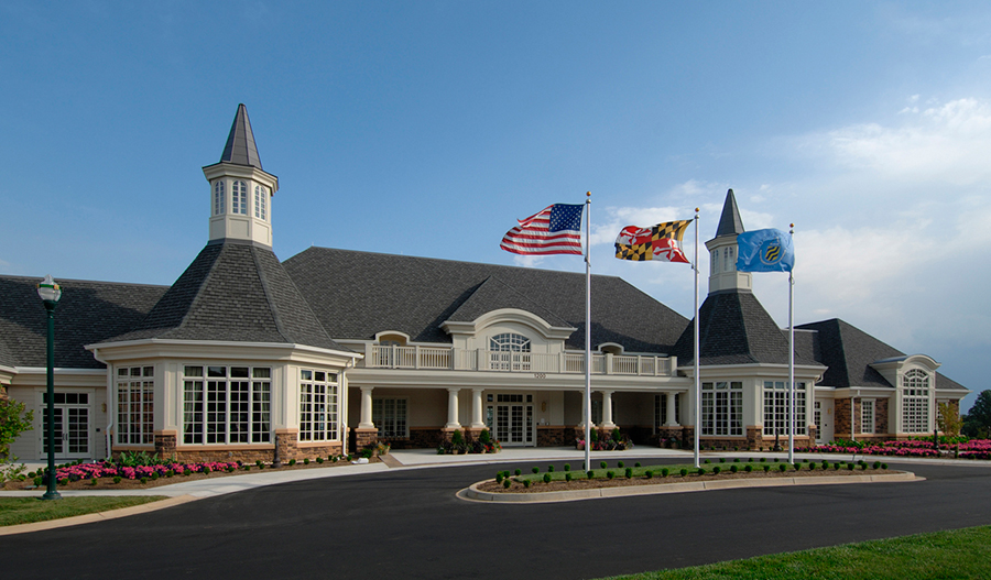 Clubhouse in Bulle Rock in MD