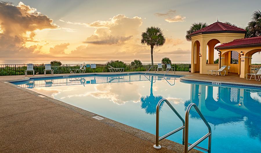 Pool in Los Lagos At Matanzas Shores in JAX