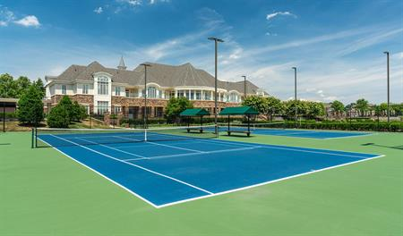 Tennis court in Bulle Rock in Maryland