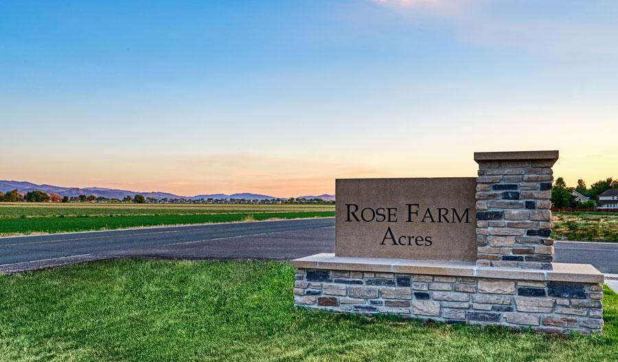 Monument of Rose Farm Acres