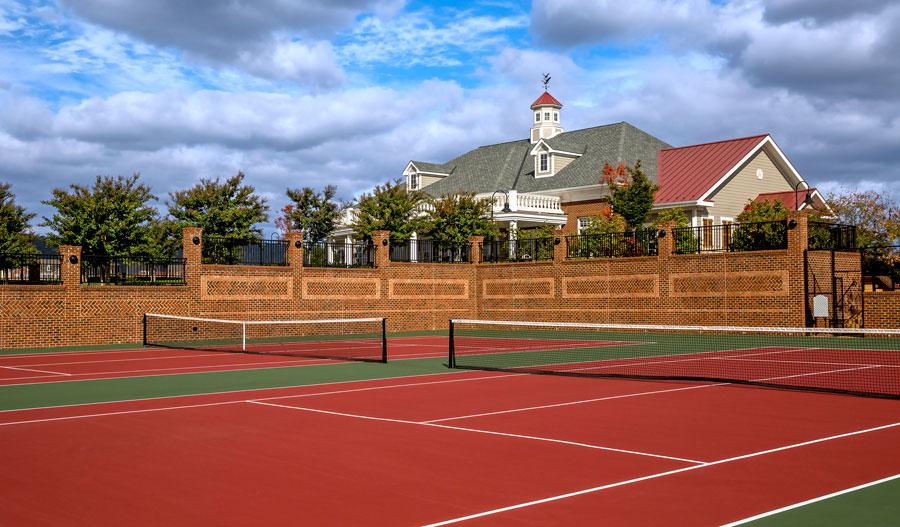 Tennis at Brunswick Crossing WMA
