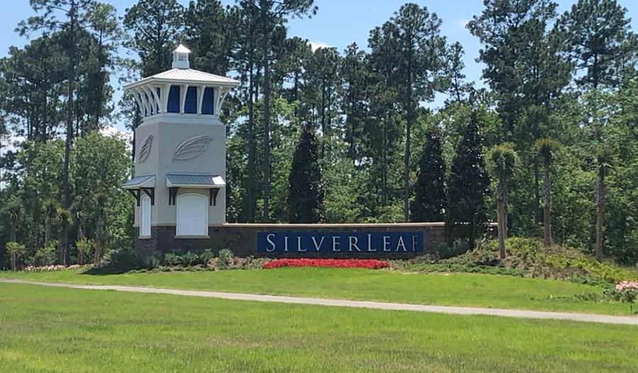 Monument at Elk Creek at Silverleaf