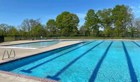 Pool at Hopyard Farm