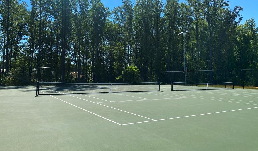 Tennis court at Keswick