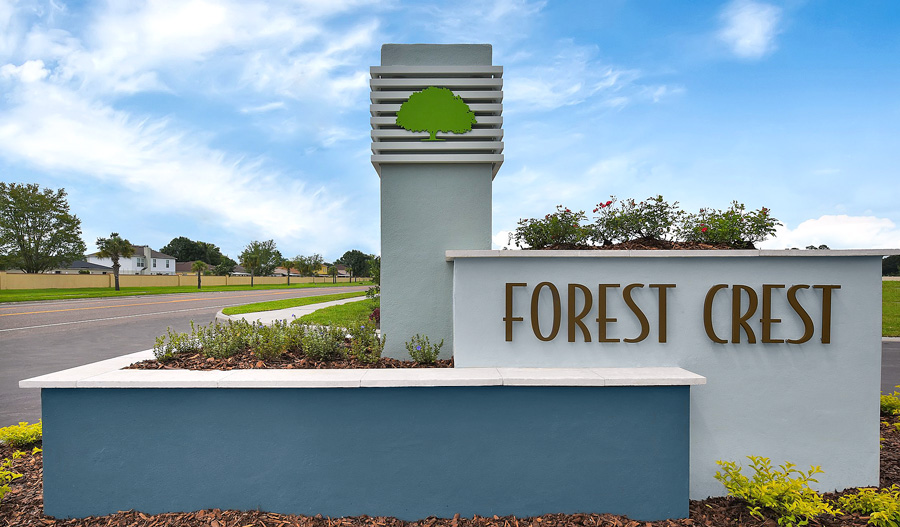 Forest Crest monument