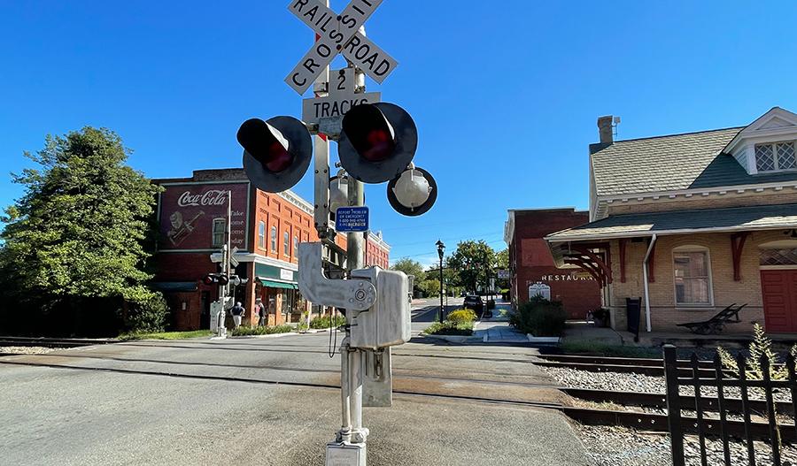 Downtown of Orange, Virginia