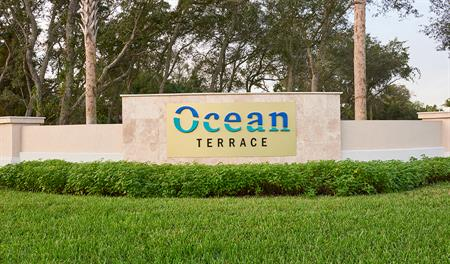 Entry to the Ocean Terrace community in Jacksonville