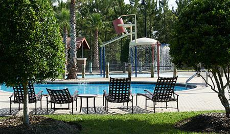 Community pool at Pine Ridge Plantation in Jacksonville