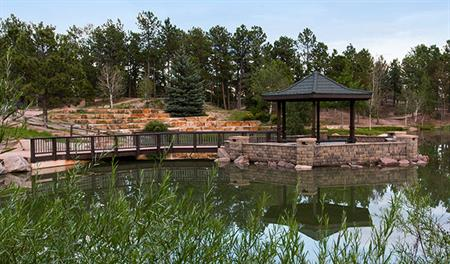 Remington Hill at Jackson Creek - Gazebo and Lake