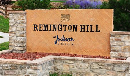 Remington Hill at Jackson Creek - Entrance