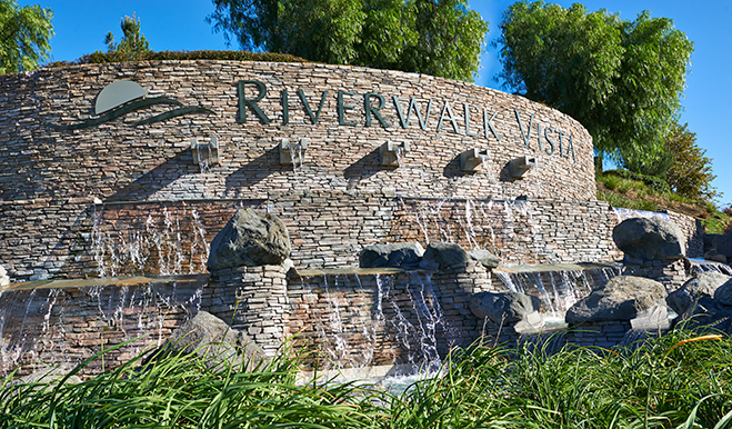 Riverwalk - Community monument