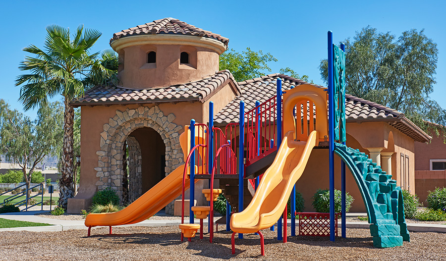 Community playground at Rogers Ranch in Phoenix