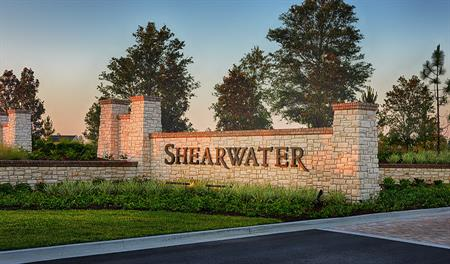 Entrance to the Shearwater community in Jacksonville