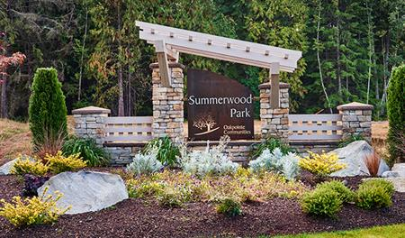 Summerwood Park - Entrance