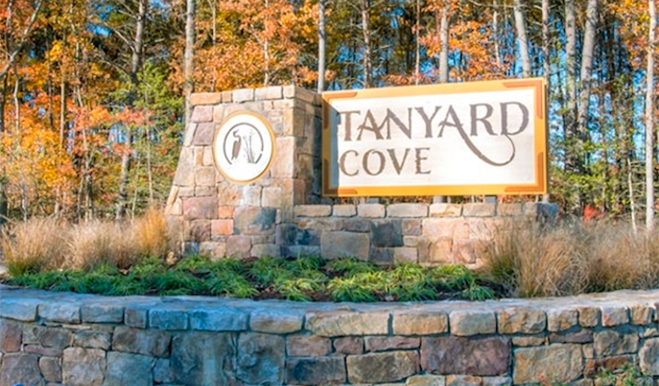 Tanyard Cove - Entrance