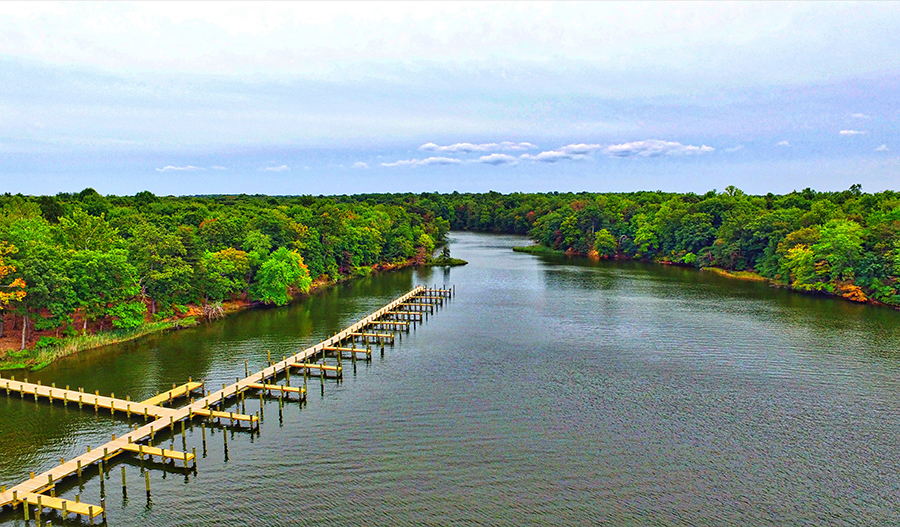 Tanyard Cove - Docks