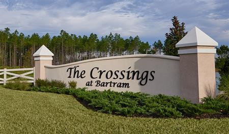 Entrance to The Crossings at Bartram in Jacksonville