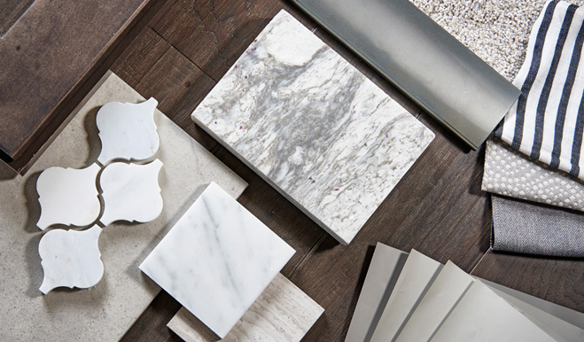 New Home Tile Samples at Gallery