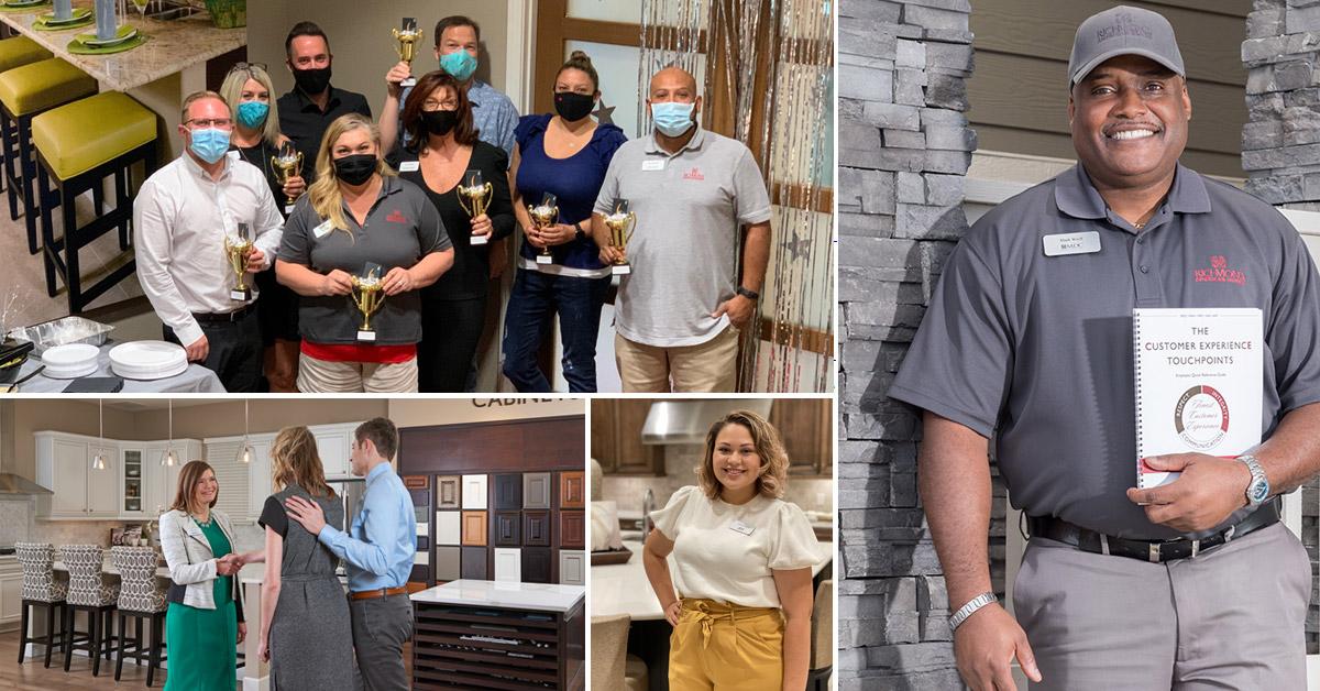 Richmond American Career Center collage