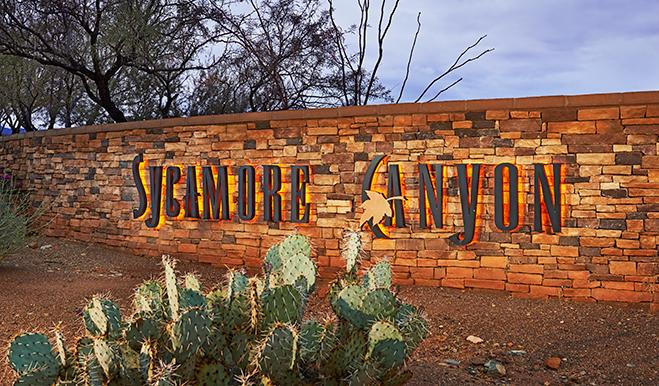 Sycamore Canyon - Entrance