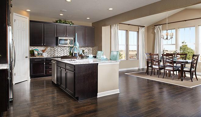 Kitchen Nook in The Alcott Floor Plan