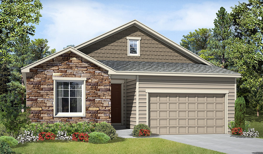 New homes in littleton co home builders in quincy lake for Richmond homes ranch floor plans