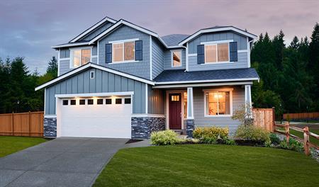 4 bedroom 2 5 bathroom 2 car garage floor plans in for New home communities seattle