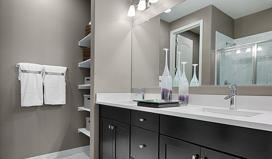 Bathroom in the Amethyst floor plan