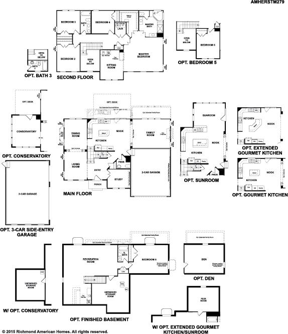 Coronado Floor Plan At Ponderosa Neighborhood Copperleaf