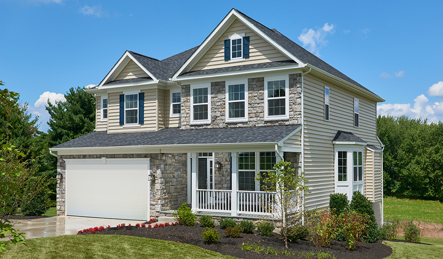 Fantastic 4 Bedroom Homes In Catonsville Maryland Richmond American Beutiful Home Inspiration Aditmahrainfo