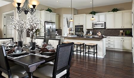 Kitchen in the Anika floor plan