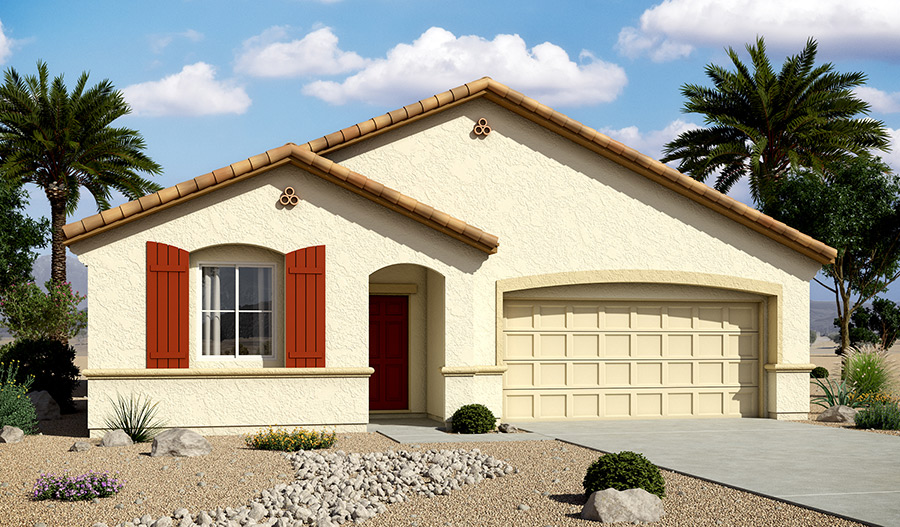 Exterior A of the Arabelle floor plan