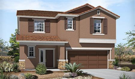 Exterior B of the Bethany floor plan in the Skyline Ridge community