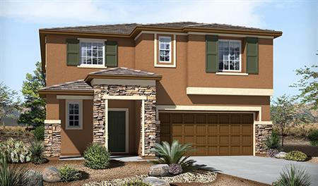 Exterior C of the Bethany floor plan in the Skyline Ridge community