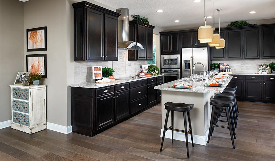 Kitchen in the Bradford floor plan