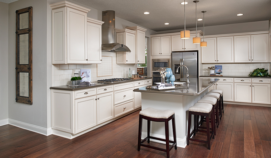 Kitchen in the Bradford floor plan